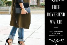 Your Bijoux Box - Free Boyfriend Watch with New Subscription