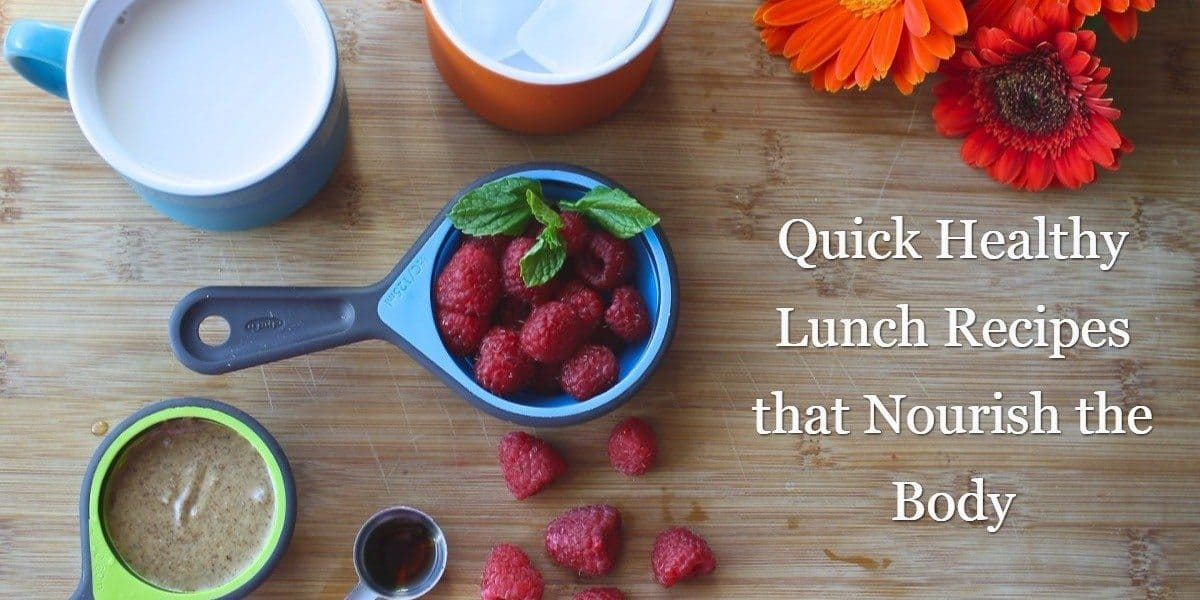 Quick Healthy Lunch Recipes