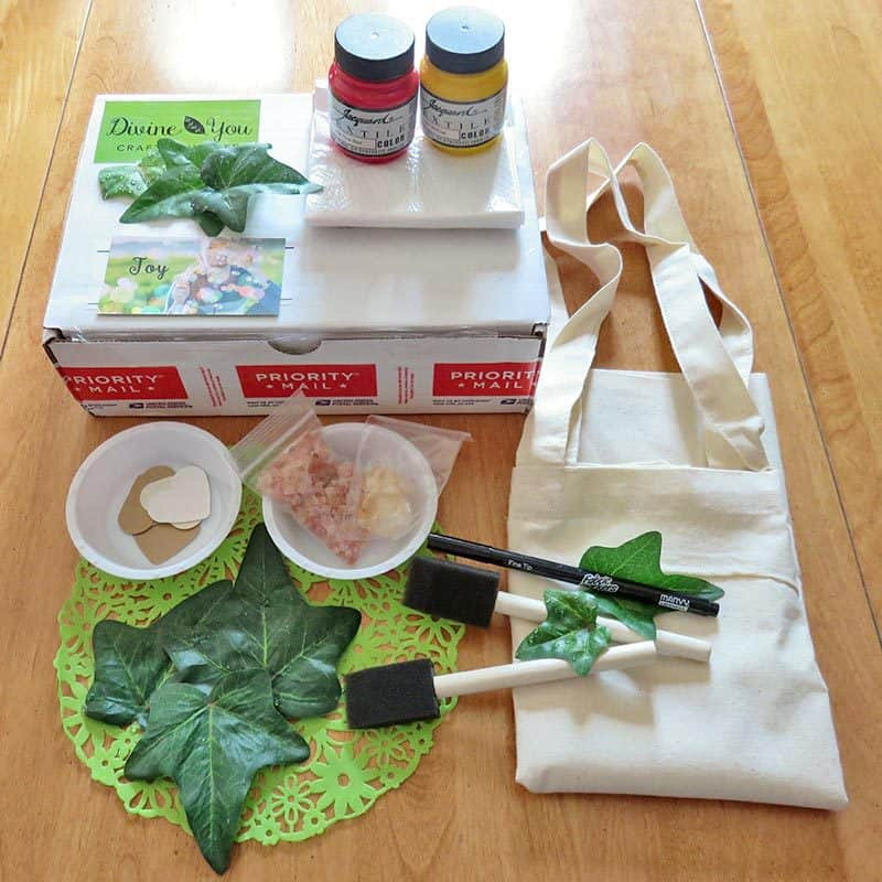 August 2016 Divine You Crafts Review - Box Contents