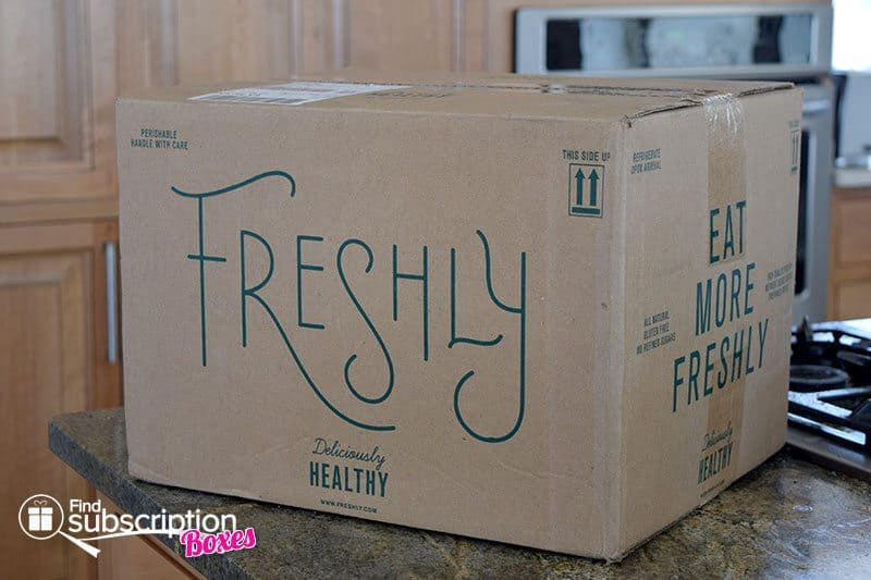 August 2016 Freshly Review - Box