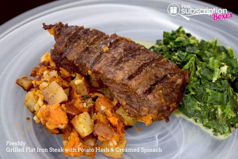 August 2016 Freshly Review - Steak
