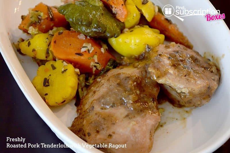 August 2016 Freshly Review - Pork Tenderloin