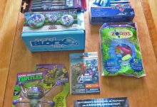 August 2016 Nerd Block Jr for Boys Review - Box Contents