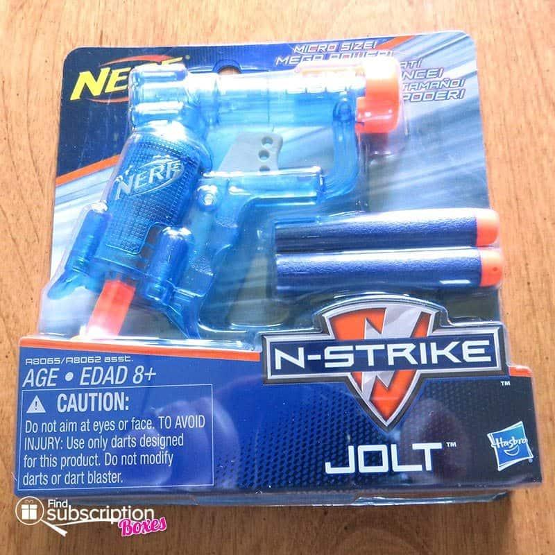August 2016 Nerd Block Jr for Boys Review - Nerf Gun