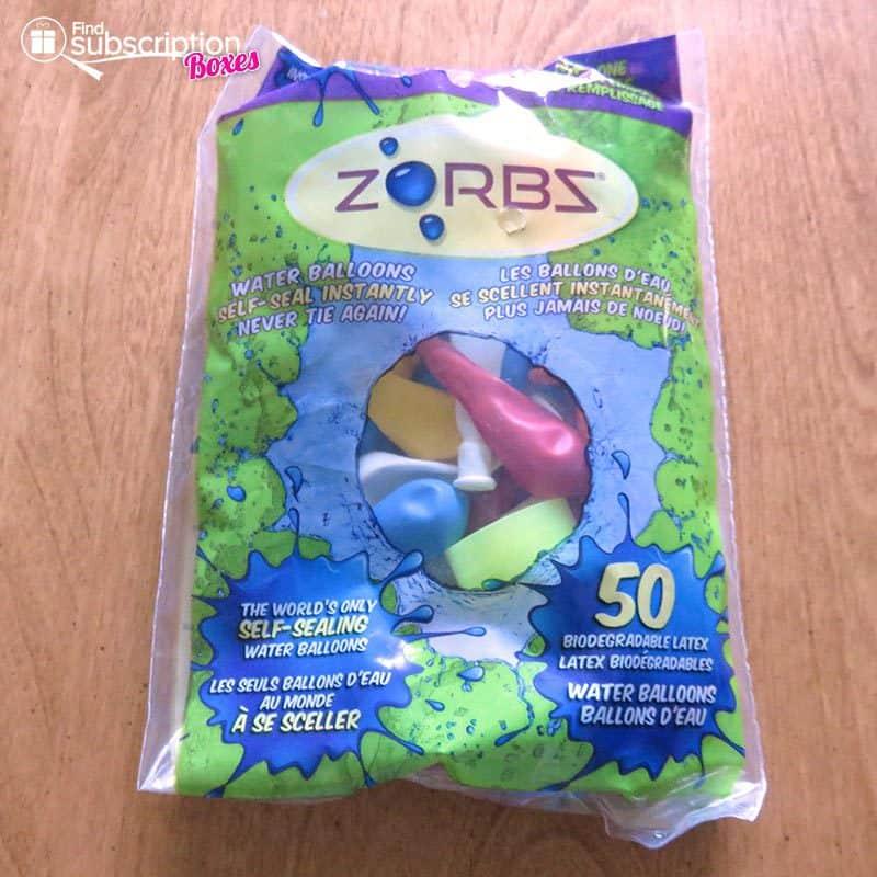 August 2016 Nerd Block Jr for Boys Review - Zorbz Balloons