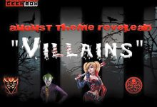 August 2016 Powered Geek Box Theme - Villains