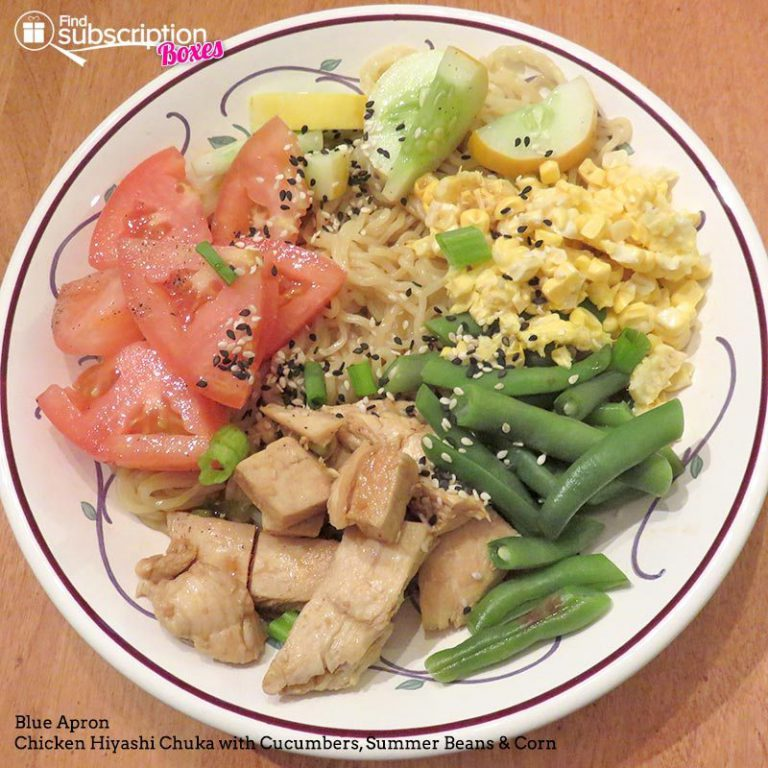 Blue Apron 2016 Chicken Hiyashi Chuka