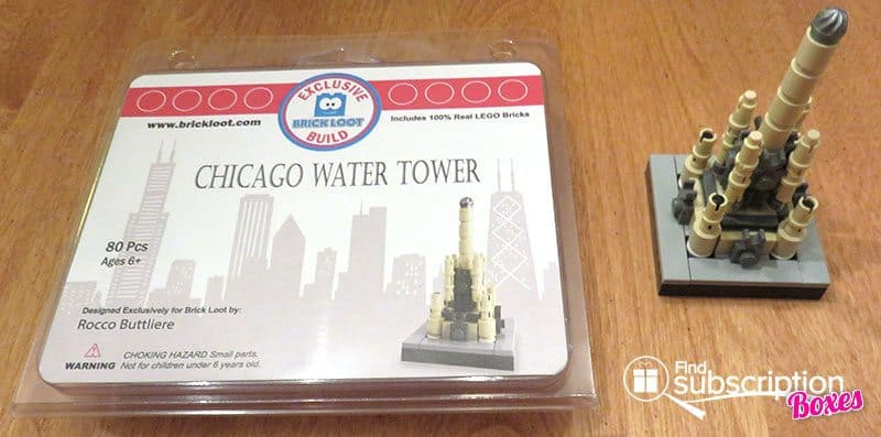 Brick Loot August 2016 Review - Chicago Watch Tower
