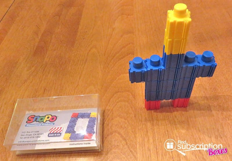Brick Loot August 2016 Review - SNAPO