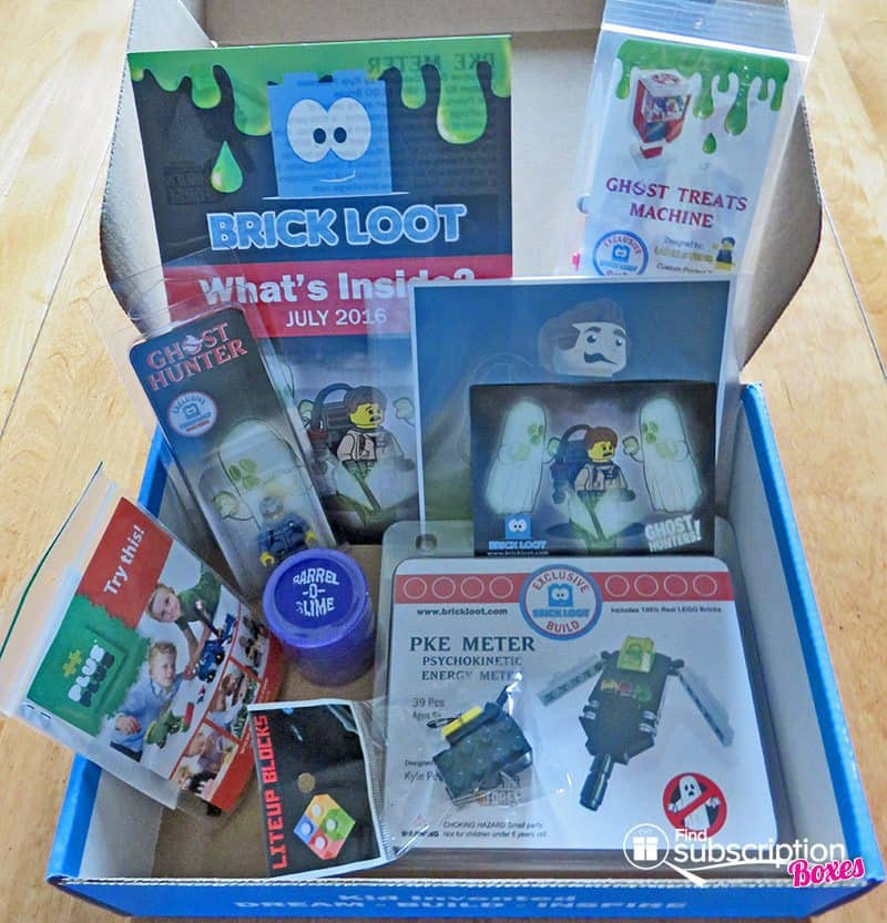 Brick Loot July 2016 Review - Box