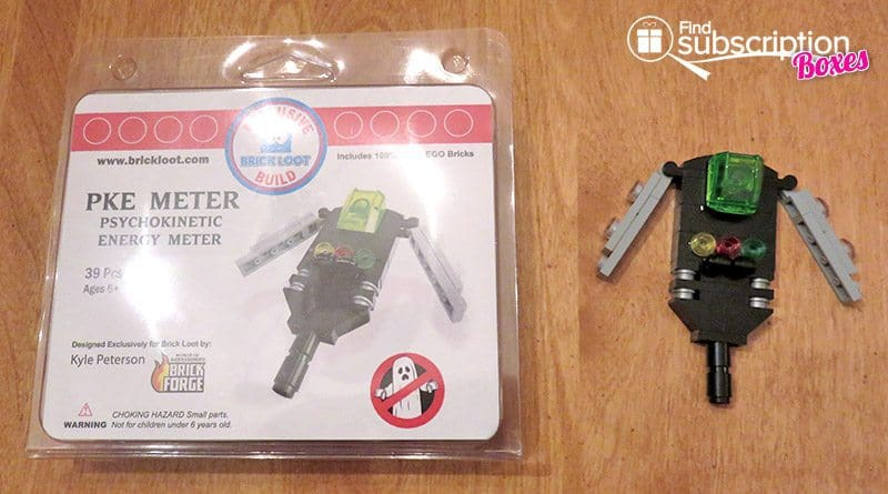Brick Loot July 2016 Review - PKE Meter