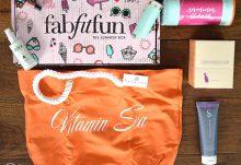 Summer 2016 FabFitFun VIP Box Review - Box Contents