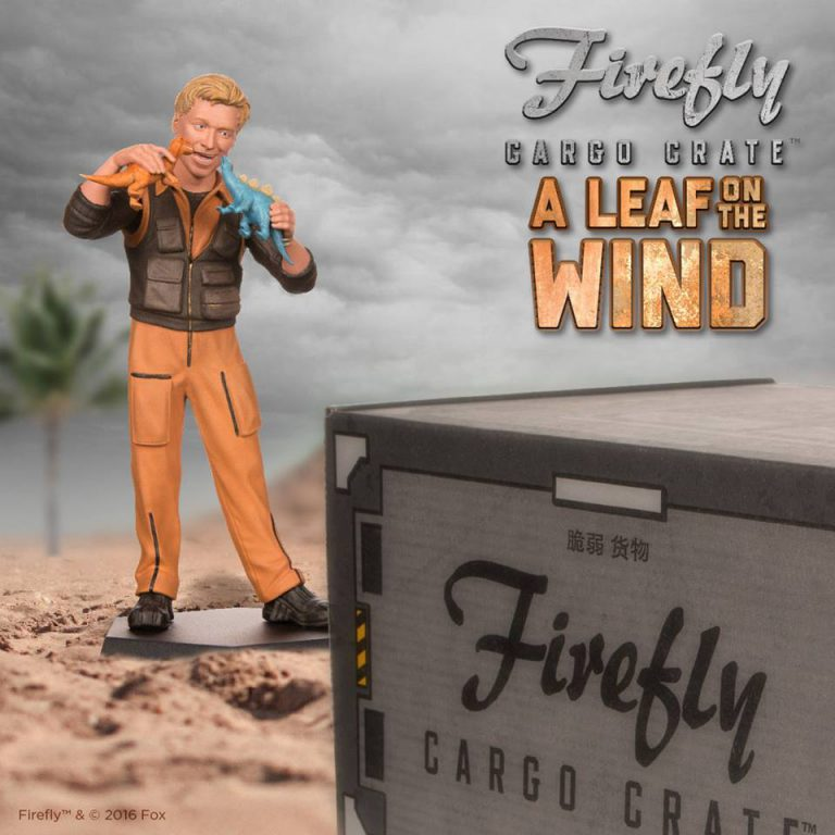 Firefly Cargo Crate September 2016 Box Spoilers - Wash Little Damn Heroes Figure