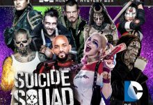 Geek Fuel August 2016 Box Spoiler - Suicide Squad