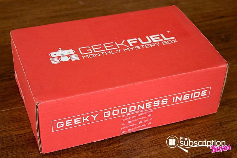 August 2016 Geek Fuel Box Review - Box