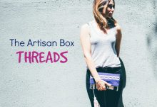GlobeIn September 2016 Artisan Box Theme - Threads