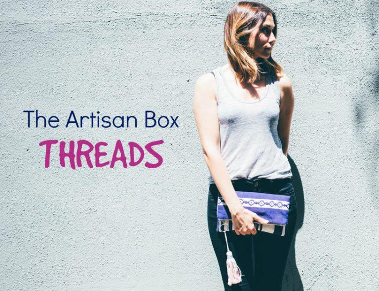 GlobeIn September 2016 Artisan Box Theme - Threads