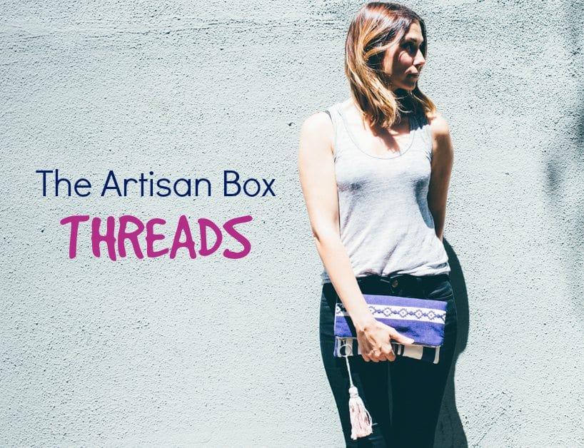 GlobeIn September 2016 Artisan Gift Box Theme - Threads