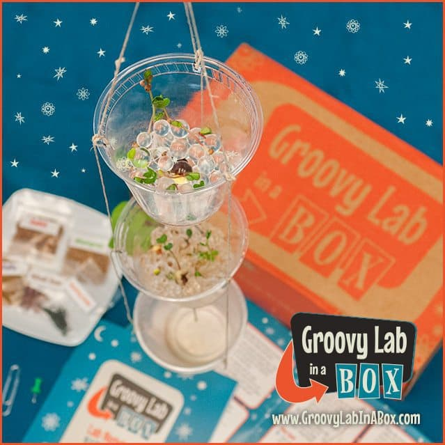 Groovy Lab in a Box August 2016 Box Spoiler - Hydroponic Garden