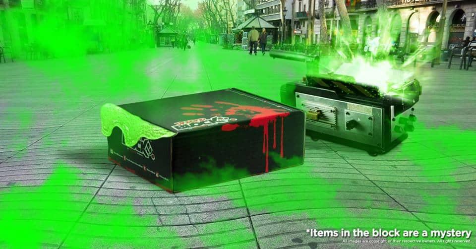 Horror Block August 2016 Box Spoiler - Ghostbusters