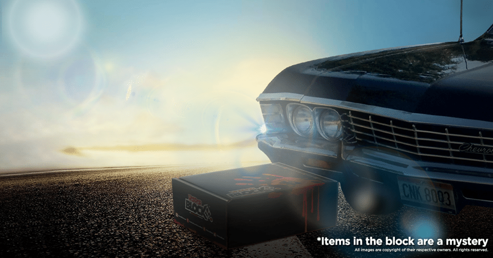 Horror Block August 2016 Box Spoiler - Supernatural
