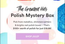 Julep Maven August 2016 Greatest Hits Polish Mystery Box