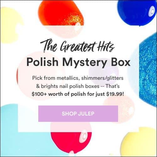 Julep Maven August 2016 Greatest Hits Polish Mystery Box