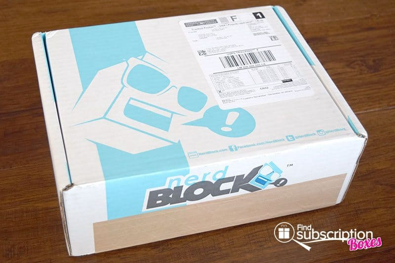 July 2016 Nerd Block Classic Block Review - Box