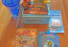 July 2016 Nerd Block Jr. for Boys Review - Box Contents