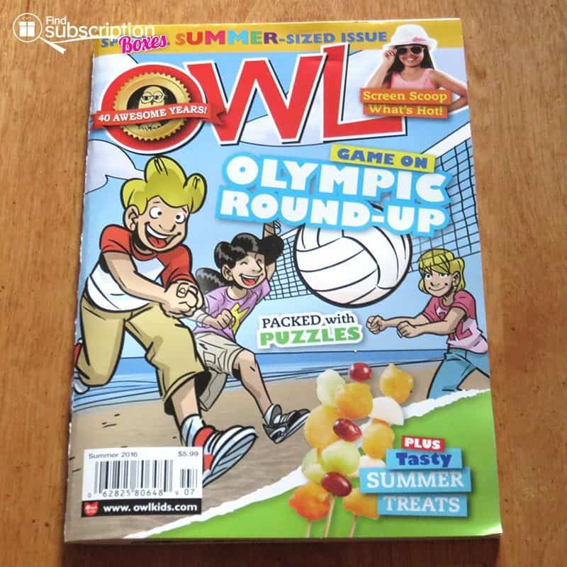 July 2016 Nerd Block Jr. for Boys Review - OWL Magazine