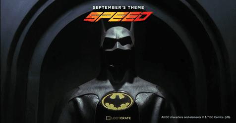 Loot Crate September 2016 Box Spoiler - Batman
