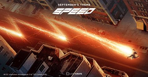 Loot Crate September 2016 Box Spoiler - The Flash