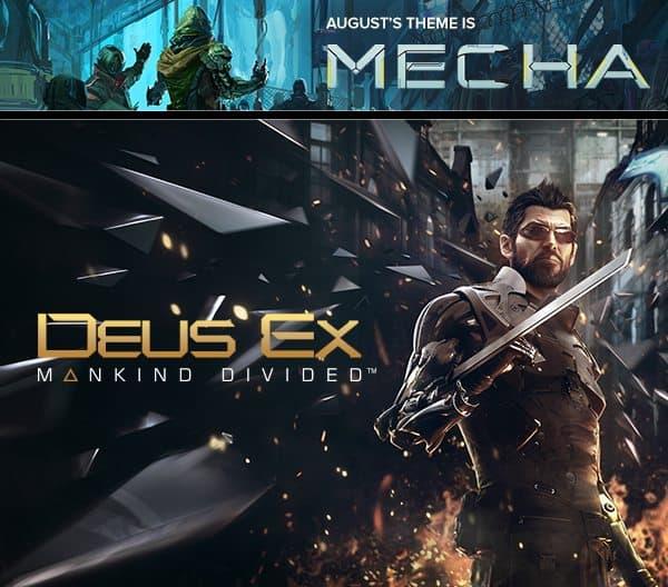 Loot Gaming August 2016 Box Spoiler - Deus Ex