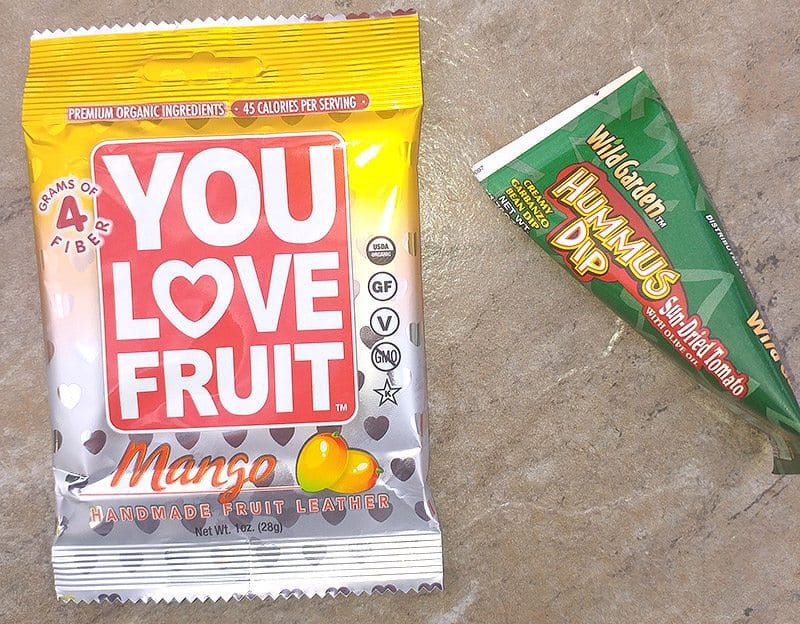June 2016 Love With Food Review - Dried Mango & Hummus