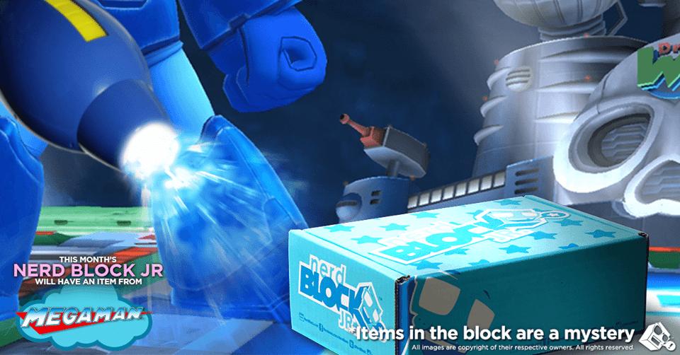 Nerd Block Jr. September 2016 Boys Box Spoiler - Mega Man