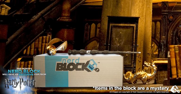 Nerd Block September 2016 Classic Block Spoiler - Harry Potter