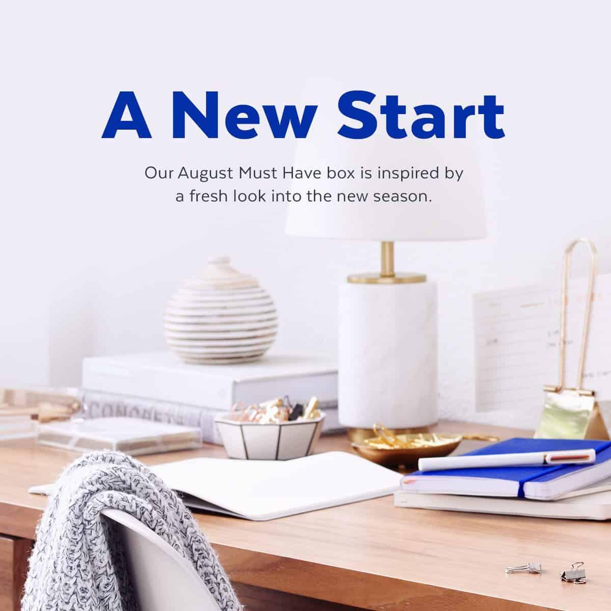 POPSUGAR August 2016 Must Have Box Theme - New Start