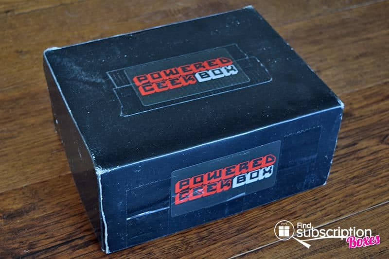 Powered Geek Box June 2016 Box Review - Box