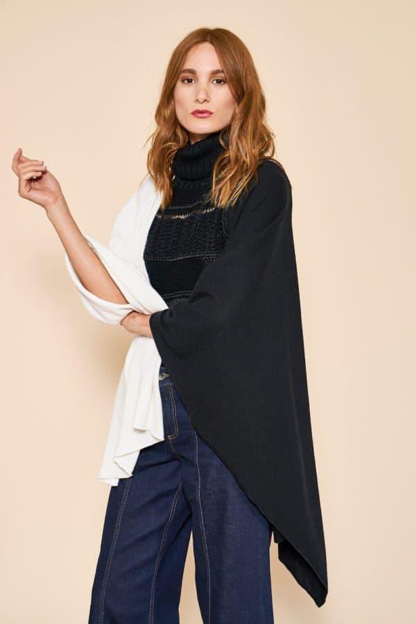 Rachel Zoe Box of Style Fall 2016 Hero Box Item - Donni Charm Oversized Cape