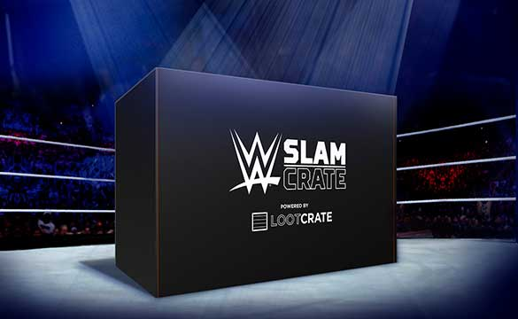 WWE Slam Crate by Loot Crate