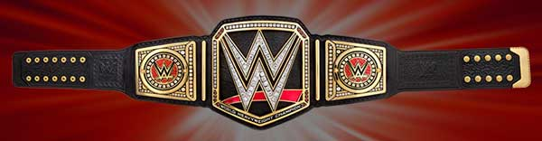 WWE Slam Crate October 2016 Ultimate Prize - Replicate Title Belt