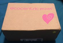 Ecocentric Mom August 2016 Mom & Baby Box Review - Box