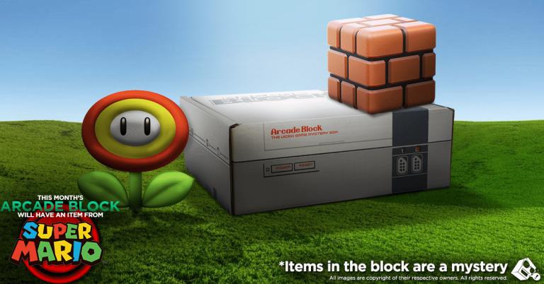 Arcade Block September 2016 Box Spoiler - Super Mario