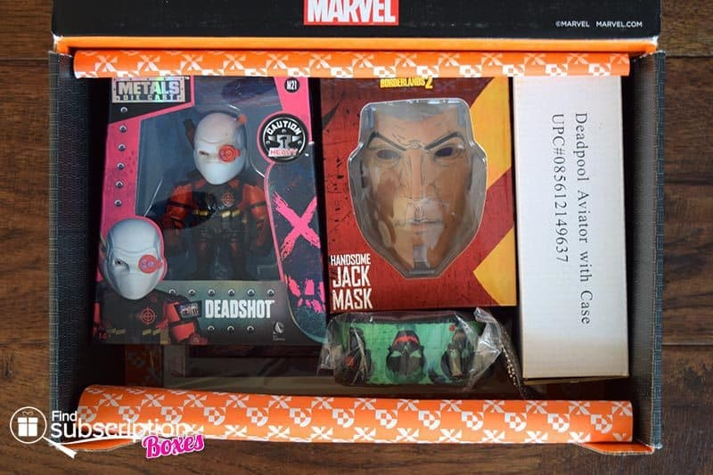 August 2016 Loot Crate DX Review - Anti-Hero - First Look