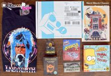 August 2016 Nerd Block Classic Review - Box Contents