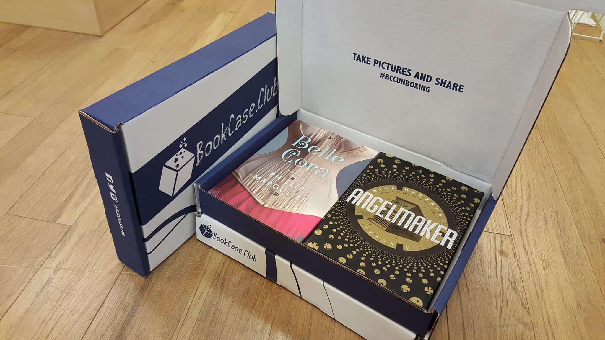 BookCase.Club Book Subscription Box