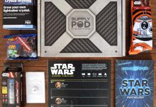 December 2015 Supply Pod Review - Star Wars - Box Contents