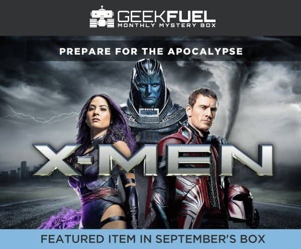 Geek Fuel September 2016 Box Spoiler - X-Men