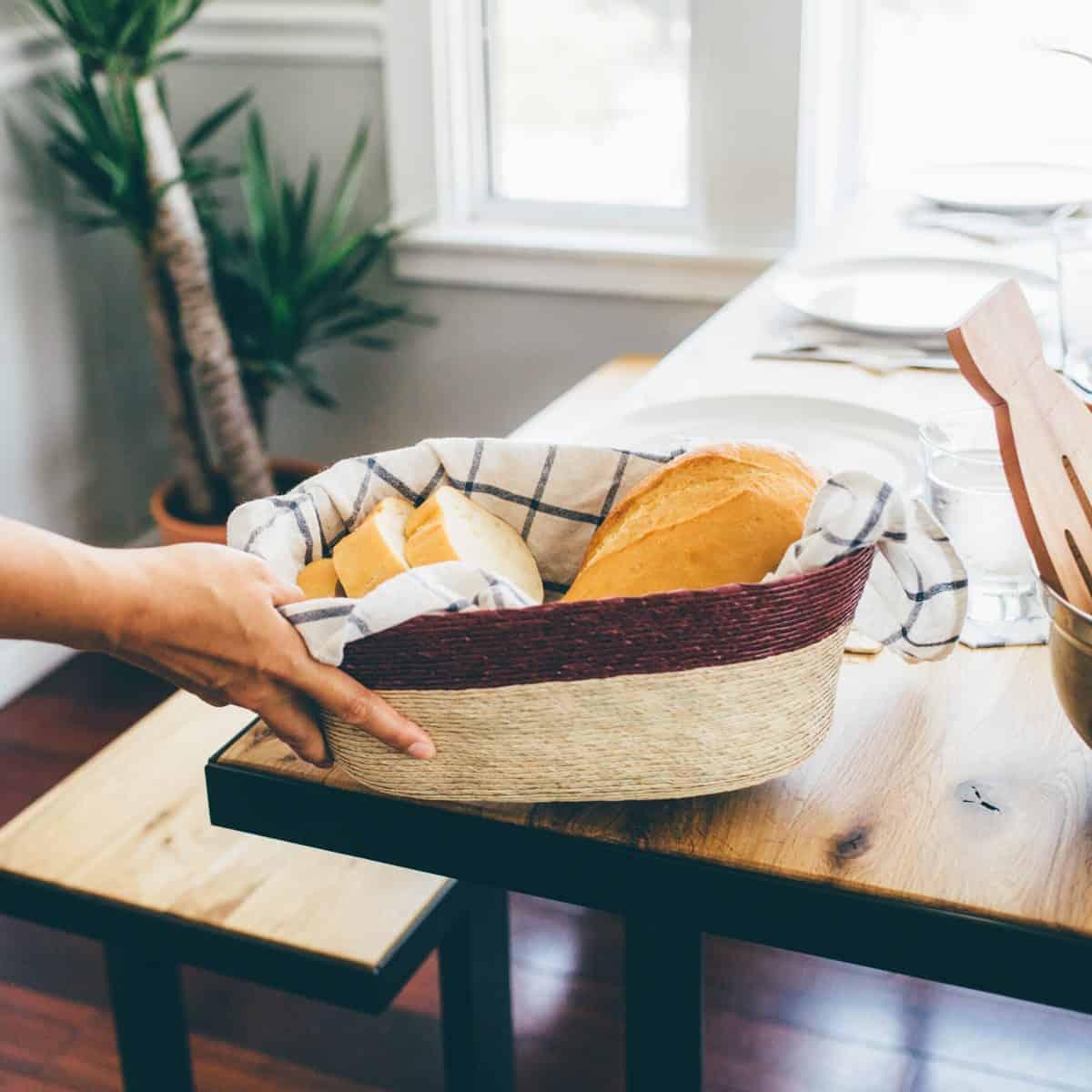 GlobeIn October 2016 Artisan Gift Box Spoiler - Woven Bread Bowl