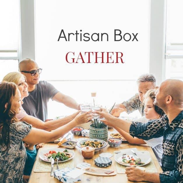 GlobeIn October 2016 Artisan Gift Box Theme - Gather